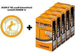 """Continental Race 28"""" LIGHT 700x20-25c Bicycle Inner Tubes -"""