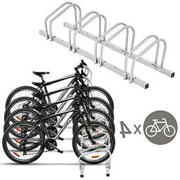 Goplus Bike Rack Bicycle Floor Stand Parking Garage Storage