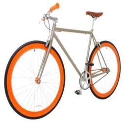 Vilano Rampage Fixed Gear Fixie Single Speed Road Bike, Cham