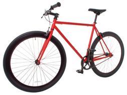 Men's Rampage Fixed Gear Fixie Single Speed Road Bike, 21.3,