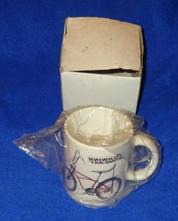 Rare Vintage Schwinn Stingray Super Deluxe Bicycle Coffee Cu