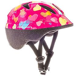 RALEIGH Rascal Hearts Kids Bike Helmet - Pink - XX Small