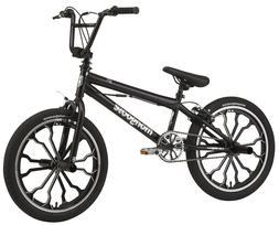 Mongoose Rebel BMX Bike bicycle Kids Style Mag Wheels w/ 4 P