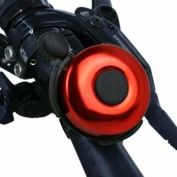 Red Bicycle Bell Safety Cycling Ring Alarm Bike Accessories