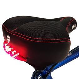 Bright Bike Rebel Red Tail Lights Comfort Saddle - specializ
