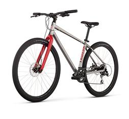 "Raleigh Redux 1 Urban Assault Bike, 21"" /XL Frame, Pewter, 2"