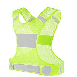 child safety New Best Reflective Running Vest w Pocket Recom