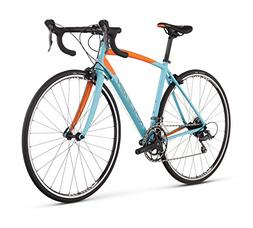 Raleigh Bikes Women's Revere 1 Endurance Road Bike, Blue, 48