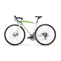 Raleigh Bikes Women's Revere 2 Endurance Road Bike, White, 5
