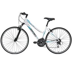 HEAD Revive XSL 700C Hybrid Road Bicycle, White, 21-Inch/Lar
