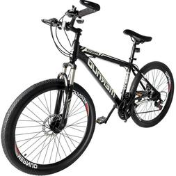 "Mountain Bike 26"" Mag Wheels Front Suspension Bicycle 21 Spe"
