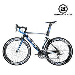 Road Bike Aluminium Shimano 16 Speed Mens Racing Bicycle Cyc