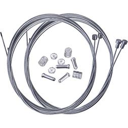 Hotop Road Bike Brake Cable Bicycle Gear Cable Wire and Caps