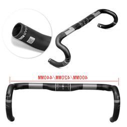 Road Bike Carbon Fiber Handlebar Racing Drop Bar UD Bend Bar