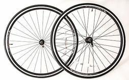 Sundeal Road Bike Clincher 700c Wheelset + Tires Freewheel C