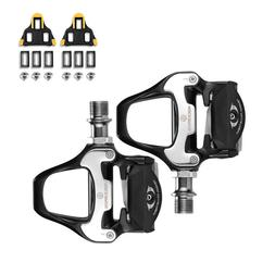 RockBros Road Bike Clipless Pedals with SPD-SL Cleats CR-MO