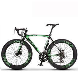 26 Inch 14 Speed Road Bike Cycling 26 Inch/700CC 60mm Men's