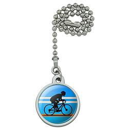 Road Bike Cycling Biking Bicycle Ceiling Fan and Light Pull
