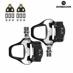 RockBros Road Bike Cycling Pedals Self-lock with SPD-SL Clea