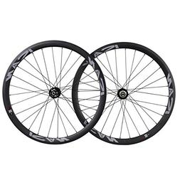ICAN Road Bike Disc Brake Wheelset Carbon Fiber 38mm Depth 2
