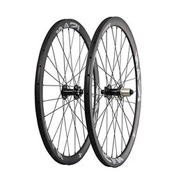 ICAN Road Bike Disc Brake Wheelset Carbon Clincher 38mm Dept