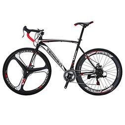 EUROBIKE Road Bike EURXC550 21 Speed 54 cm Frame 700C Wheels