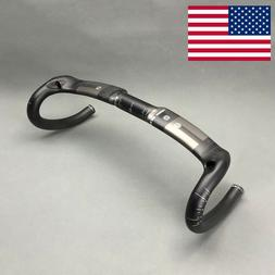 Bike Handlebar Full Carbon Fiber Road Bicycle Cycling Racing