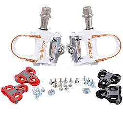 Xpedo Road Bike Sealed Magenium Pedals Look Keo Compatible W