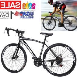 Road Bike Shimano 21 Speed Bicycle 700C Mens Bikes 54cm Daul