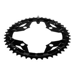 Prettyia Road Bike Single Chainring 104mm 4 Bolts Mountain B