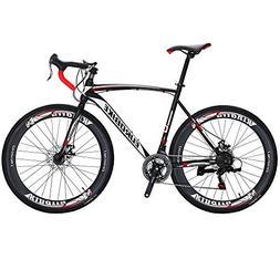 EUROBIKE Road Bike EURXC550 21 Speed 54 cm Frame 700C 700C W