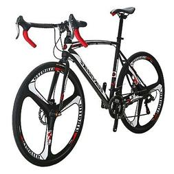 EUROBIKE Road Bike TSM550 Bike 21 Speed Dual Disc Brake 54cm