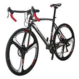 EUROBIKE Road Bike TSM550 21 Speed Dual Disc Brake 700C 3- S