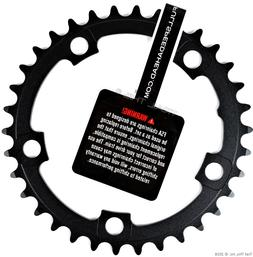 FSA Pro Road Chain Ring Black, 110x34t