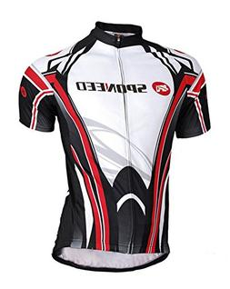 sponeed Men's Road Cycling Jersey Suits Fresh Bicycle Wear S