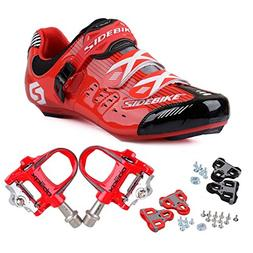 KUKOME Men's Women's Road Cycling shoes & Pedals