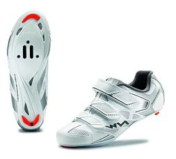 NORTHWAVE Woman road cycling shoes STARLIGHT 2 white/silver