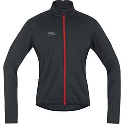 Gore Bike Wear Men's Road Cyclist Facket, Fleeced, GORE WIND