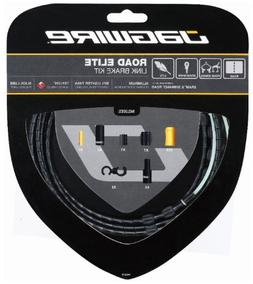 Jagwire Road Elite Link Brake Cable Kit Black, One Size