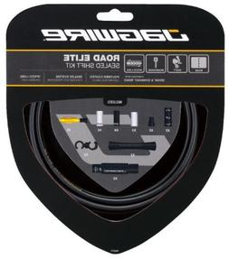 Jagwire Road Elite Sealed Shift Cable Kit Frozen Black, One