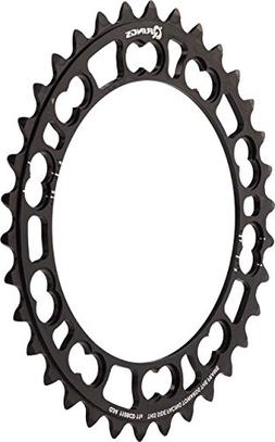 Rotor Road Inner Q-Ring Black, 34T/110BCD