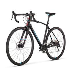 Raleigh Bikes Roker Sport All Road Bike, Black, 54 cm/Small