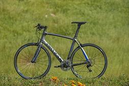 Kestrel RT-1000 Flat Bar Shimano 105 Bicycle, Satin Gray/Blu