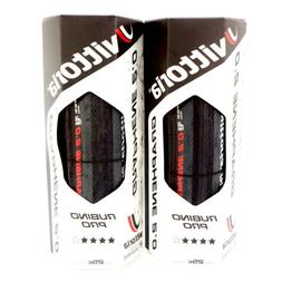 Vittoria Rubino Pro G2.0 Road Clincher Tire 700x25C Full Bla