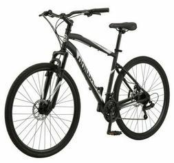 Schwinn 700C Glenwood Mens Hybrid Bike - Black S5712WMDS