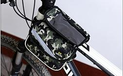 Saddle Bike Bag Multi-function Organizer Pannier Top Tube Fr