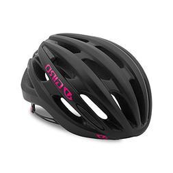 Giro Saga Womens Cycling Helmet Matte Black/Bright Pink Smal