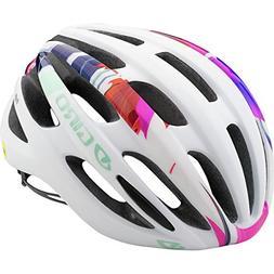 Giro Saga MIPS Cycling Helmet - Women's Matte White/Floral M