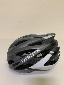 GIRO Savant Road Bike Adult M Helmet, Matte Black/White Cycl