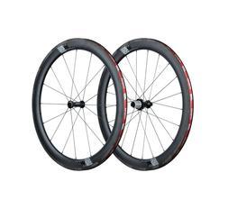 VISION SC55 Carbon TL Clincher 55mm Wheelset QR New!